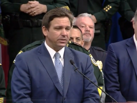 DeSantis blows racist dog whistles during HB 1 news conference