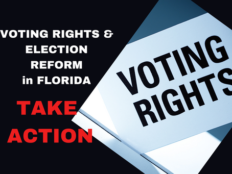 #InaugurationDay2021: Florida Voting Rights & How to Take Action
