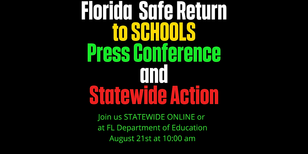 FDOE Press Conference and Statewide Action