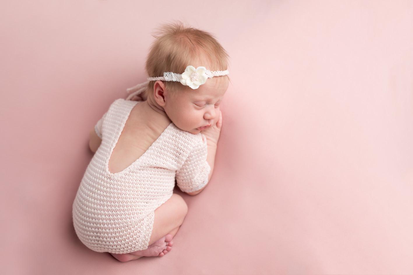 Newborn in Pink