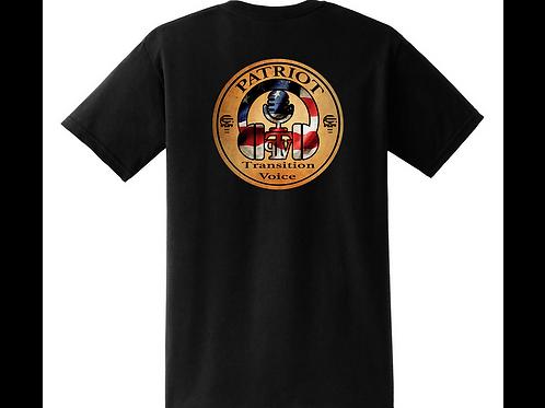 Patriot Transition Voice.  distressed  (soft  T-shirt)