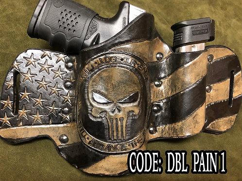 Gun and magazine holster