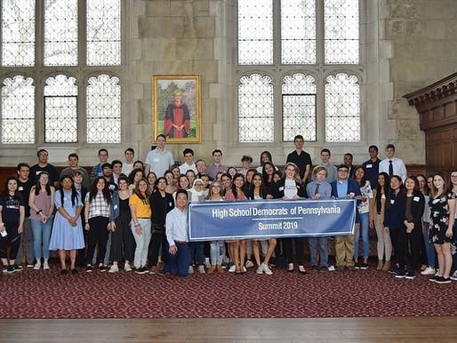 High School Democrats of Pennsylvania Virtual Mini-Summit on August 9