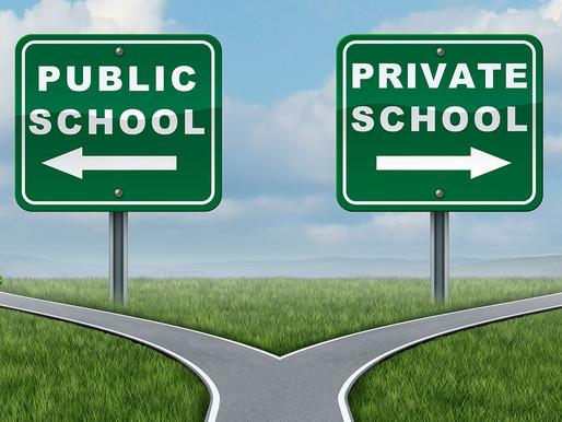 Public vs. Private School: My Experience