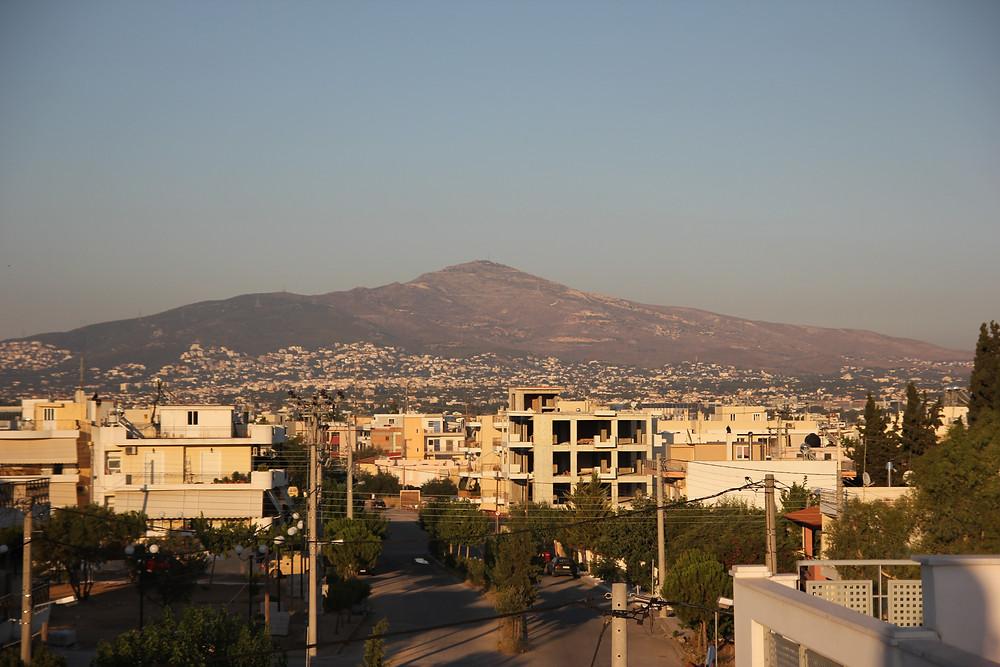 San Fernando valley landscape