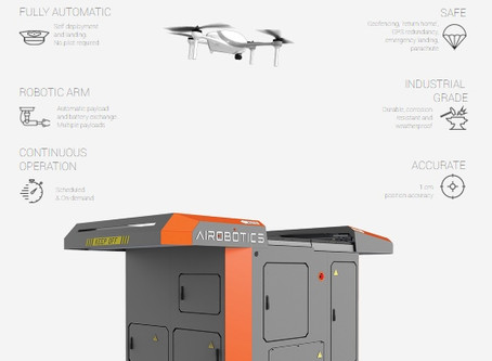 Airobotics Selects SimActive's Photogrammetry Software for its Automated Industrial Drone Solution