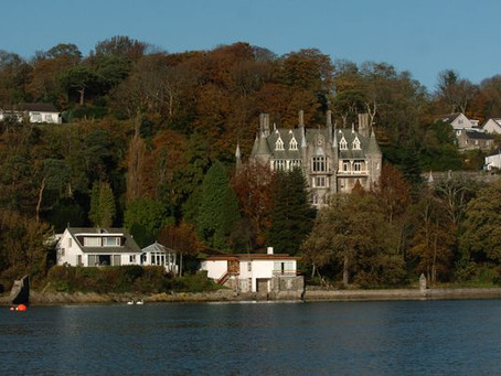 Beautiful footage reveals North Wales love chateau