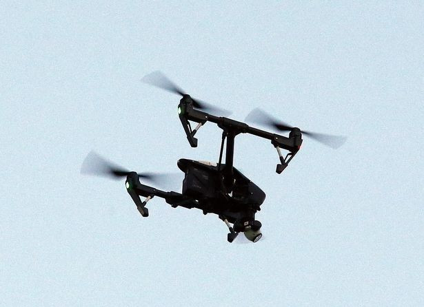 DJI Inspire Drone UAV X3 Camera