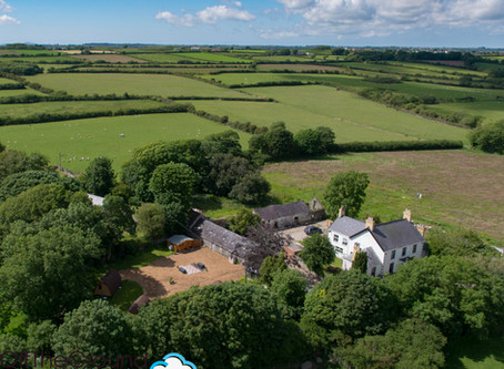 """A great way to show off your location! Anglesey's first """"glamping"""" site at Llanfair Ha"""