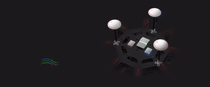 A3 overhead DJI Flight Controller