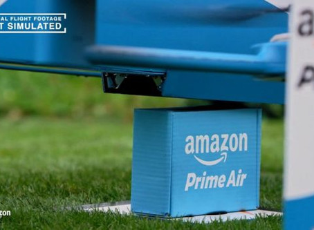 New trials for delivering goods by drones