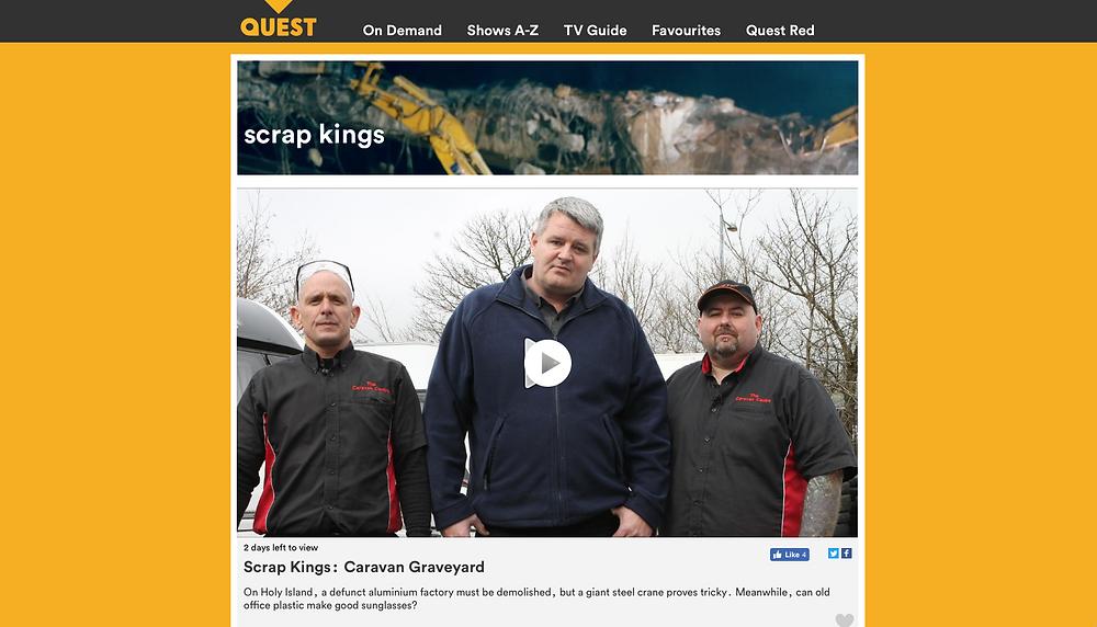 Scrap Kings, TV, Drone, UAV, North Wales