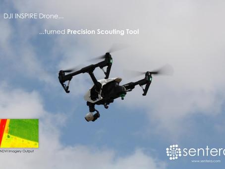 Sentera Transforms INSPIRE Drone into Affordable Precision Scouting Tool