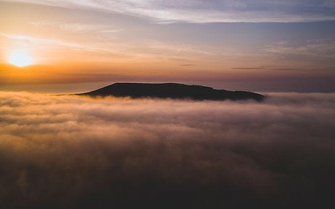 The Misty Moorlands Of Mynydd Llandygai