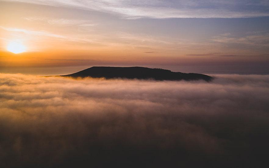 The Misty Moorlands Of Mynydd Llandegai & Moel Y Ci