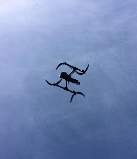 DJI Inspire Drone, UAV, X5 Camera