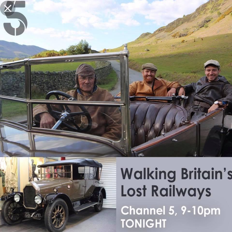 Walking Britains Lost Railways Channel 5 Drone Video UAV Film TV Aerial Services