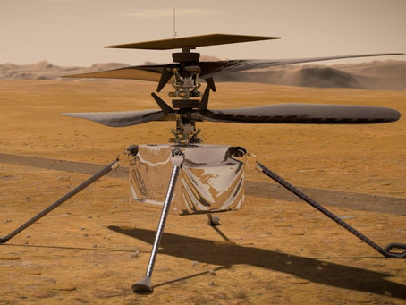 A Drone on Mars: That's One Small Flight for a Drone, One Giant Leap for Drone Kind