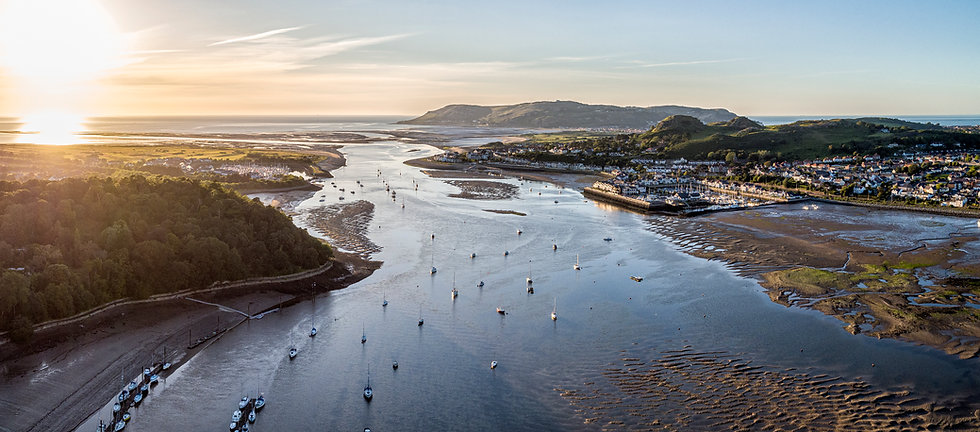 Conwy Estuary Sunset