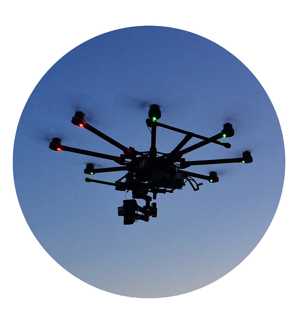 Our DJI S1000 Octocopter / Panosonic Lumix GH3