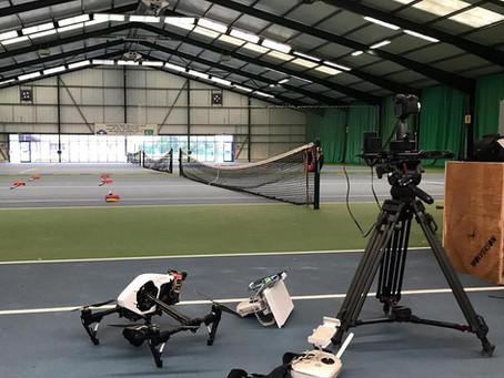 Indoor flying for Gwynedd Council