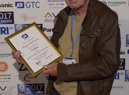 OffTheGround Founder Made Fellow of the Guild of Television Cameramen