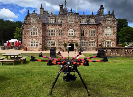 OffTheGround filming at Plas Coch