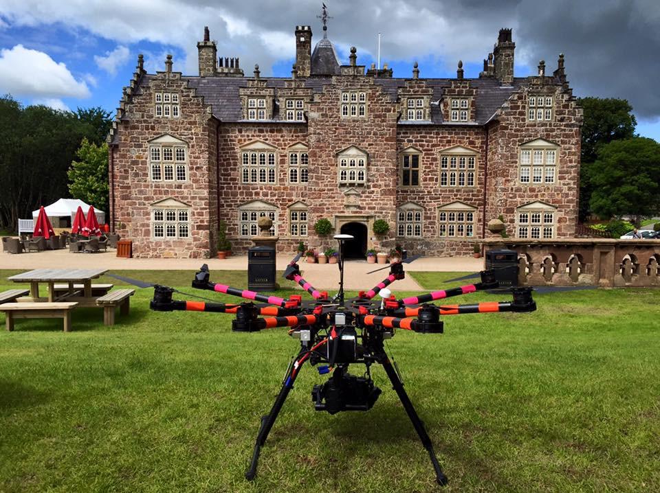 DJIS1000 Octocopter Drone UAV Lumix GH3