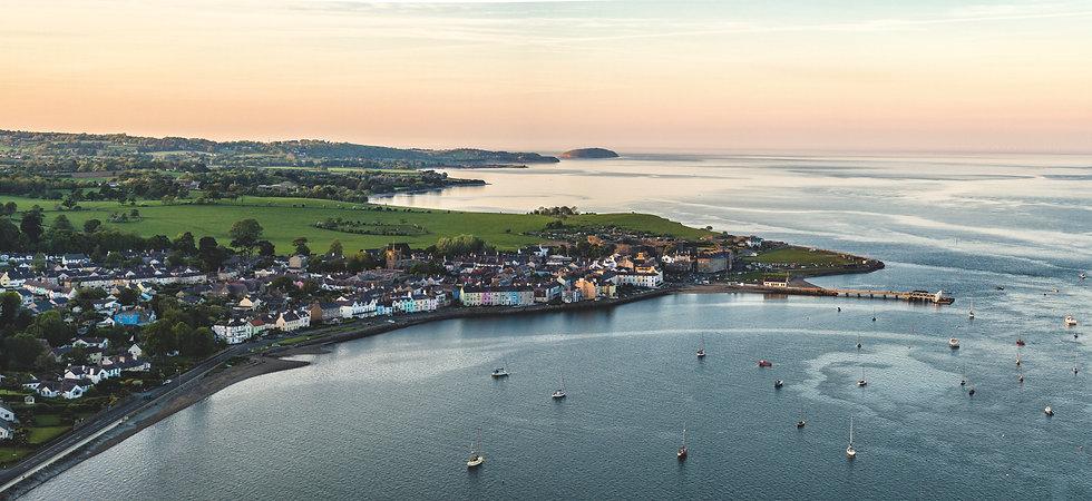 Evening Light Over Beaumaris