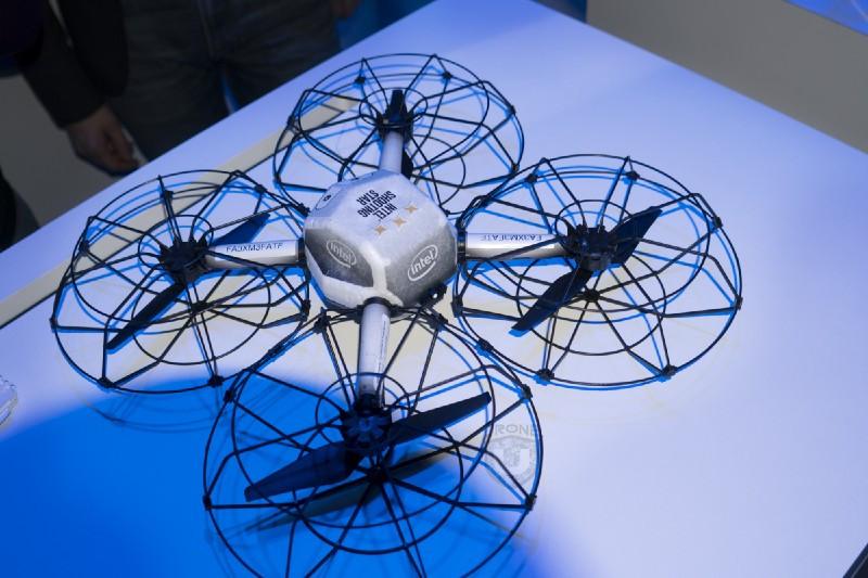 Intel Drone, UAV, Super Bowl