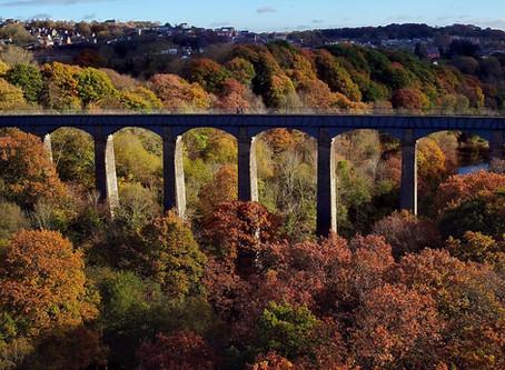 Pontcysyllte Aqueduct by Drone