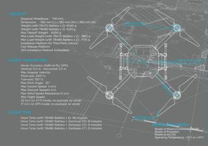 DJI Wind 1 Specification, Drone UAV