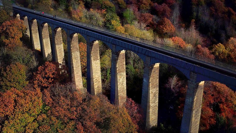 Pontcysylte Aqueduct, Drone, UAV, DJI Inspire Pro