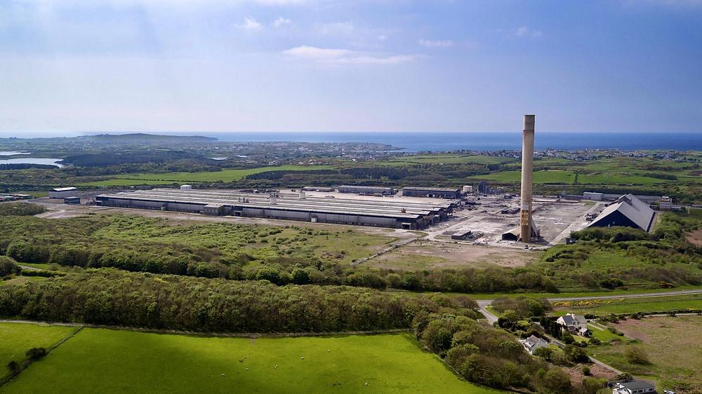 Anglesey Aluminium, Holyhead, Anglesey, Drone, UAV, Photo