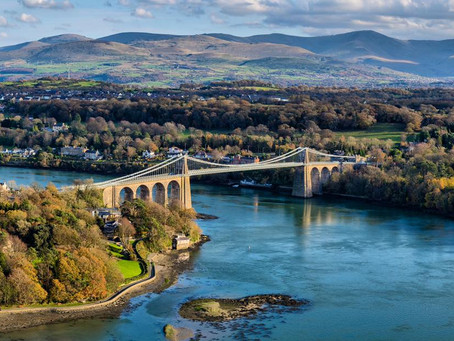 A Beautiful Day On The Menai Strait