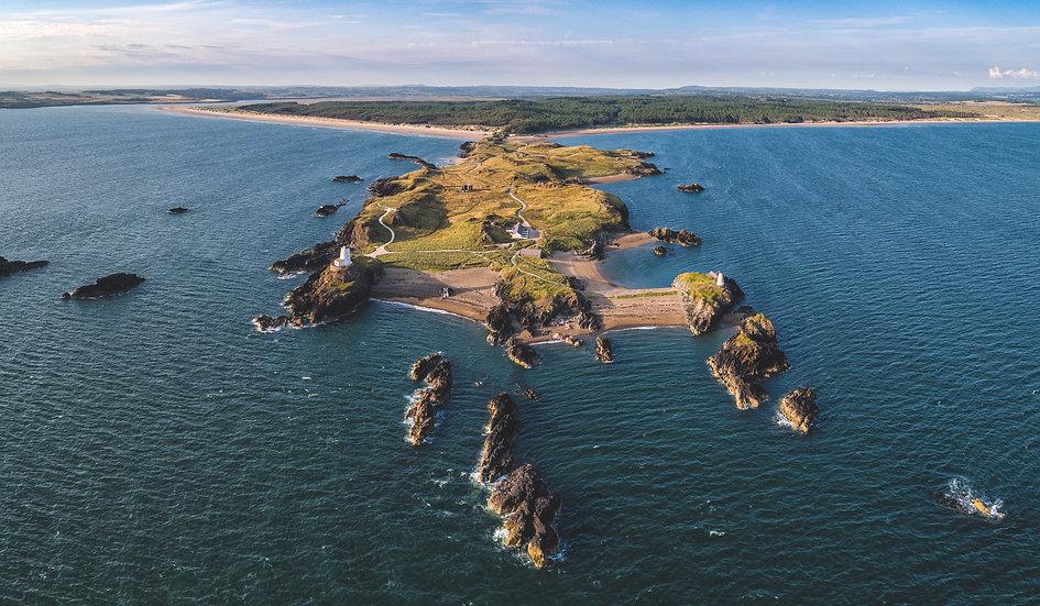 Llanddwyn Island From Sea