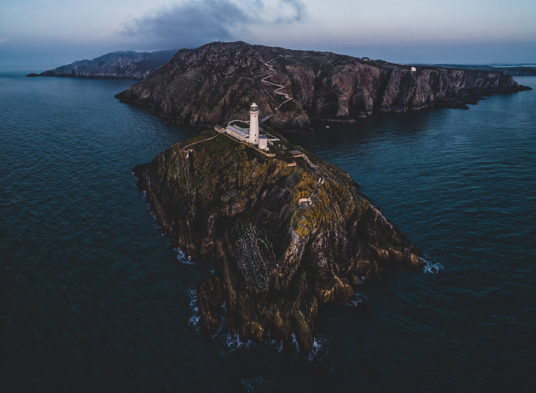 Last Light At South Stack Lighthouse