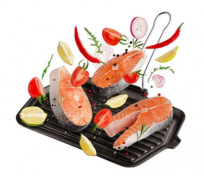 raw-steaks-salmon-trout-fish-with-spices