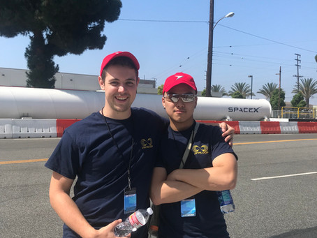 Day 1 Of the Hyperloop Pod Competition