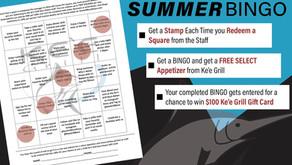 July Bingo at Ke'e Grill!