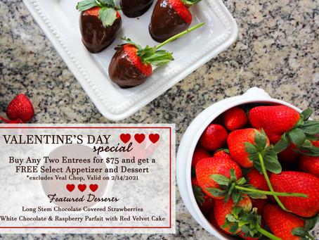 Valentine's Day 2021 at Henry's | Delray Beach, FL