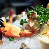 The freshest seafood right off the dock- Crow's Nest Restaurant & Marina