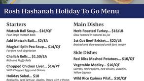 Rosh Hashanah 2021 | Family-Style To-Go