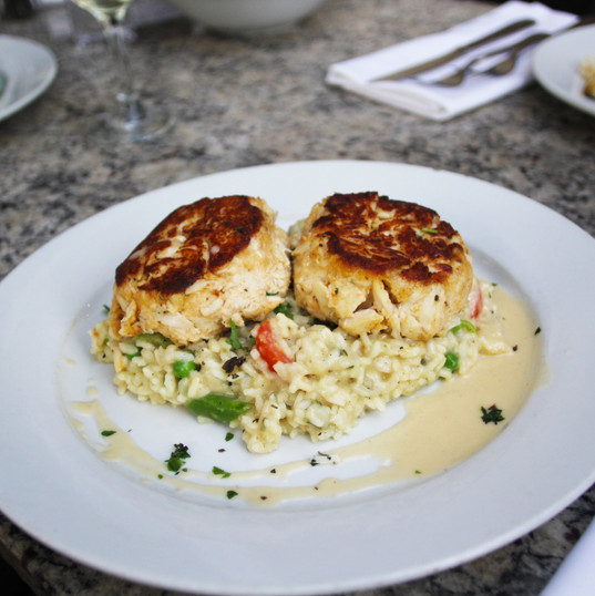 Henry's in Delray Beach Crab Cakes