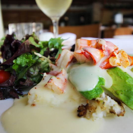 Fresh seafood from Ke'e Grill Juno Beach