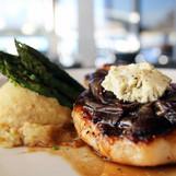 Caramelized Onion Pork Chop from Crow's Nest in Venice, FL