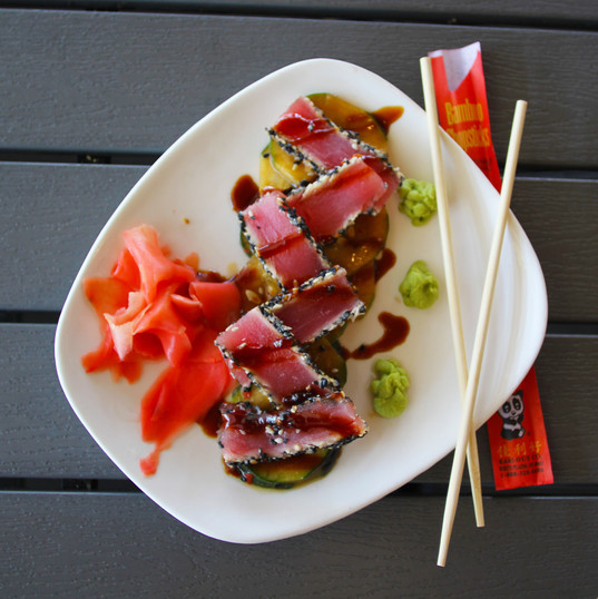 Seared Ahi Tuna from Best Restaurant Venice, FL- Crow's Nest