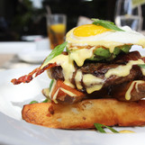 The Bella Burger- Classic American Cuisine from Henry's