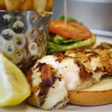 Blackened Group Sandwich from Crow's Nest Venice, FL