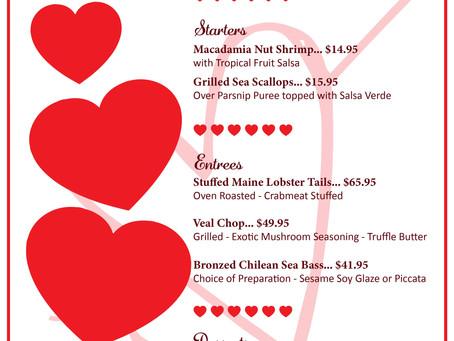 Valentine's Day at Ke'e Grill in Boca Raton | 2021